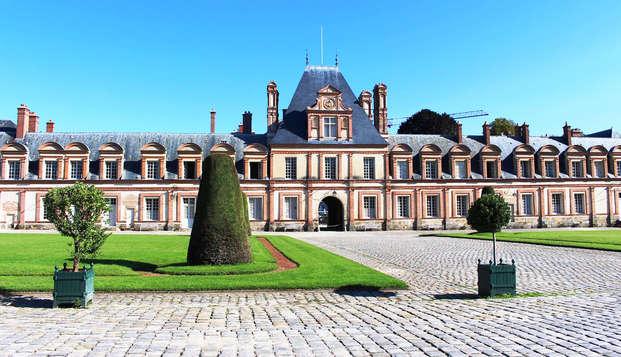 Escapada real con visita al castillo de Fontainebleau
