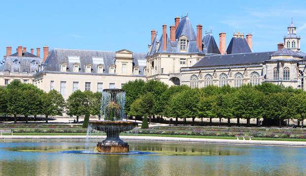 Escapade décourverte et relaxante avec entrée au Château de Fontainebleau (à partir de 2 nuits)