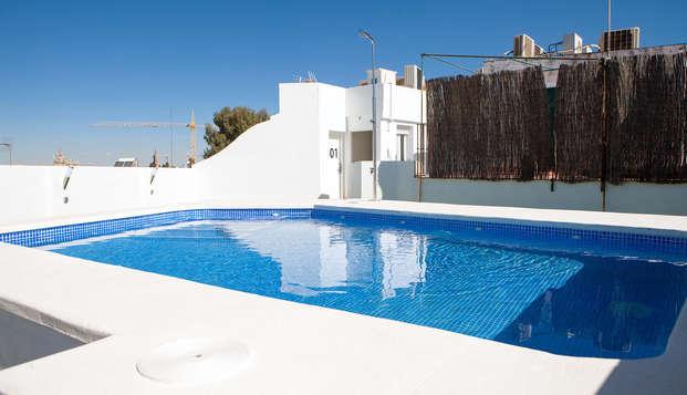 Joli hôtel design avec piscine à Séville