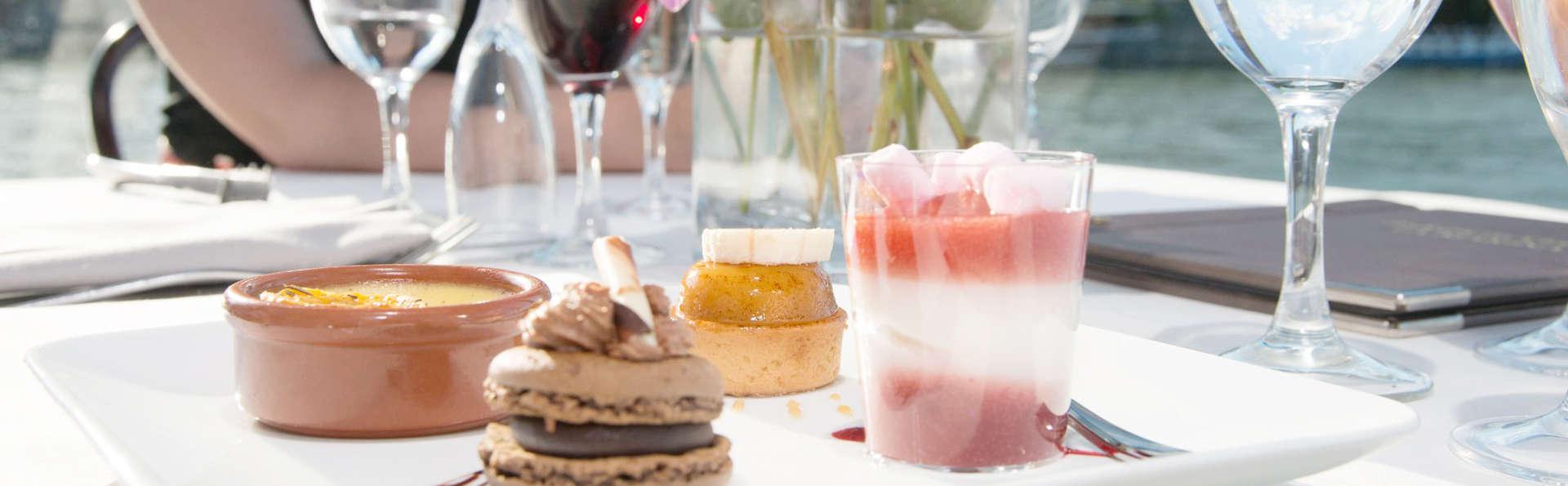 Week-end d'exception avec dîner-croisière sur la Seine dans un hôtel de charme
