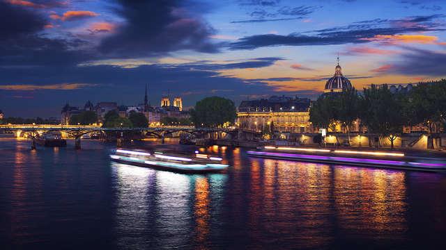 Saint Valentin gourmande et insolite en croisière sur la Seine (à partir de 2 nuits)