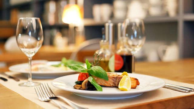 Dineren met zicht op het Veerse Meer nabij Middelburg