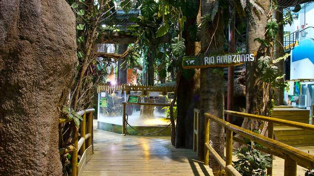 Ideal Familias: Alójate en un hotel Castillo con visita al Acuario Fluvial de Zaragoza