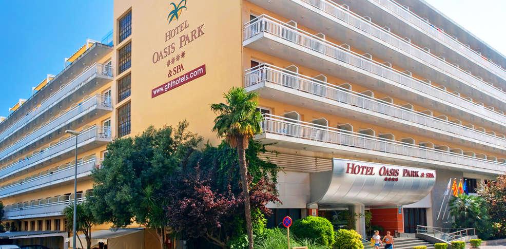 hotel oasis park spa ght hotels 4 lloret de mar espagne. Black Bedroom Furniture Sets. Home Design Ideas