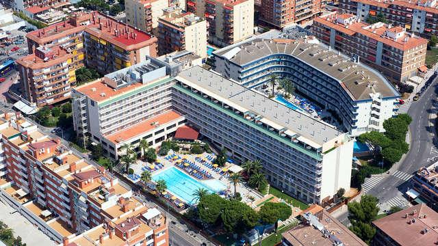 Week-end familial en pension complète à Lloret de Mar