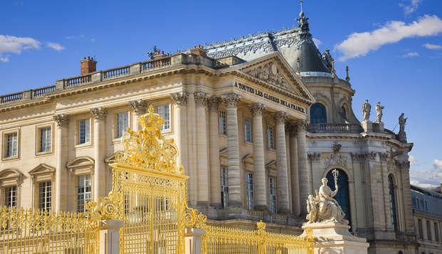 Sur les traces de Louis XIV de Saint-Germain-en-Laye à Versailles (entrée Château Pass 1 jour)