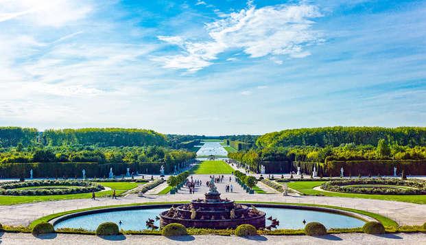 Relájate y descubre el palacio de Versalles (pase de 1 día)
