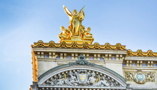 Escapada al lado de París con visita guiada a la Ópera Garnier