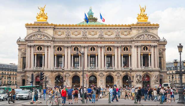 Week-end au cœur de Paris avec visite de l'Opéra Garnier