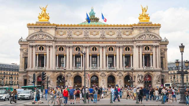 Alojamiento en el corazón de París con visita a la Opéra Garnier