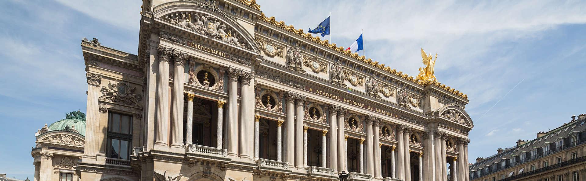 Week-end avec visite guidée de l'Opéra Garnier