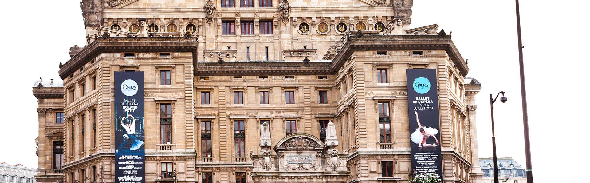 Découvrez les secrets de l'Opéra Garnier lors d'un week-end 3* à Paris