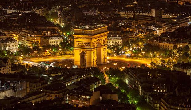 Découvrez l'Arc de Triomphe lors d'un week-end 4* au cœur de Paris