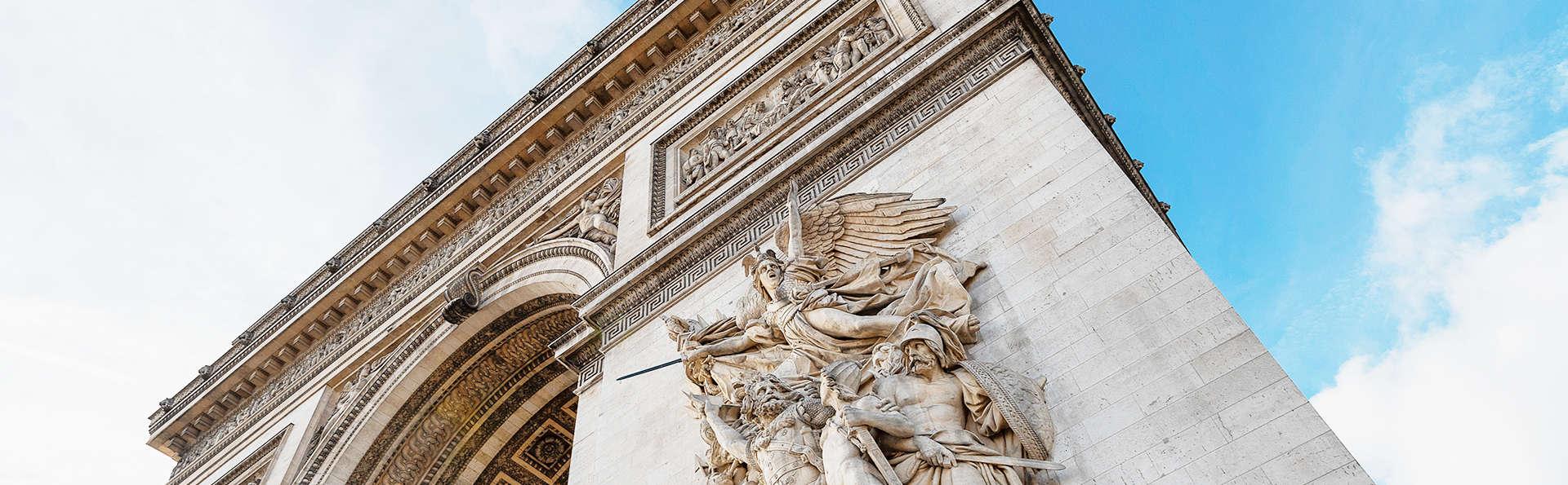 Week-end à Paris avec visite de l'Arc de Triomphe