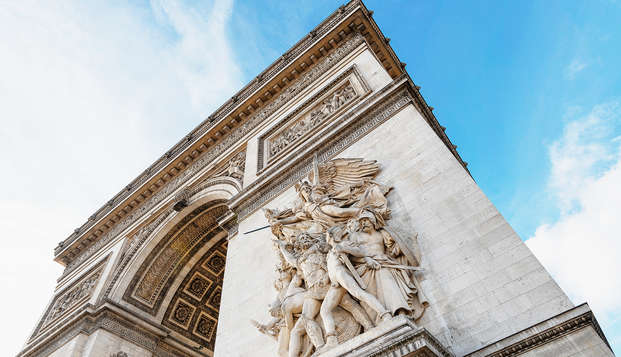 Week-end à Paris avec visite de l'Arc de Triomphe