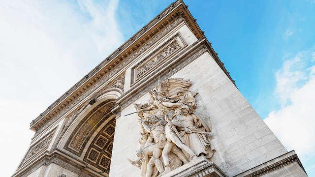 Weekend in Parijs inclusief bezoek aan de Arc de Triomphe