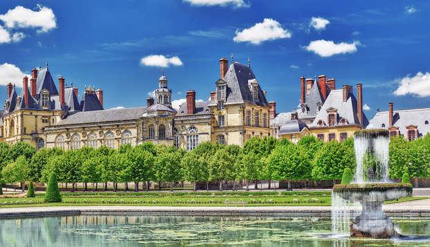 Escapada en familia y visita al castillo de Fontainebleau