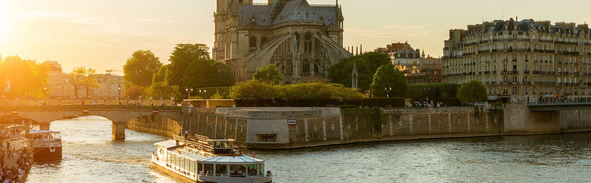 Week-end dans un hôtel Design et dîner à la Marina de Paris