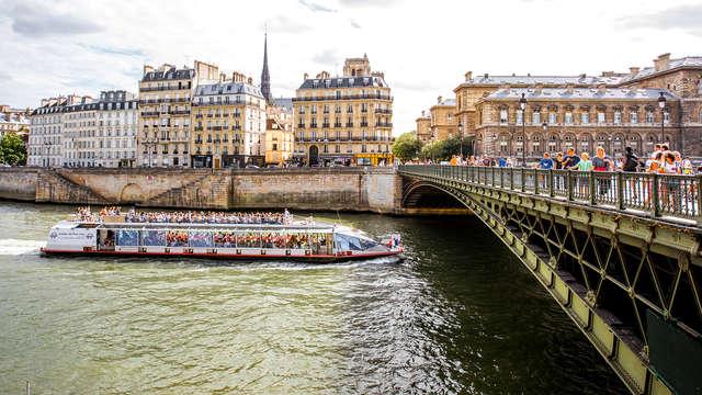 Week-end détente avec diner-croisière à la Marina de Paris