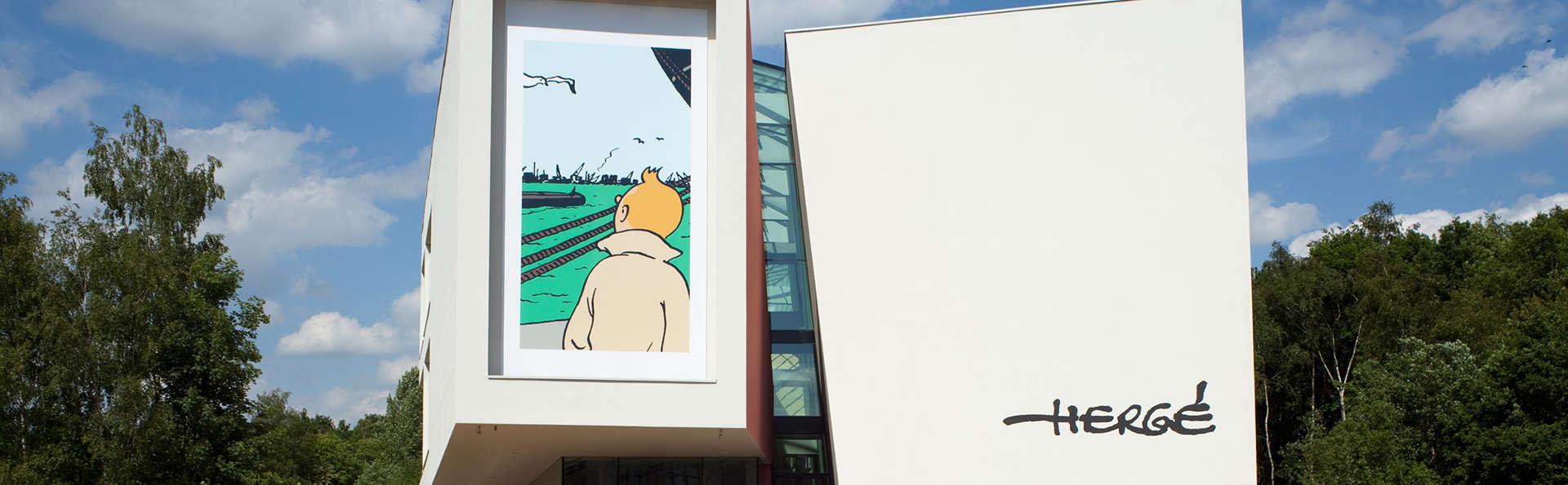Entre art contemporain et Tintin, escapade culturelle en Brabant wallon