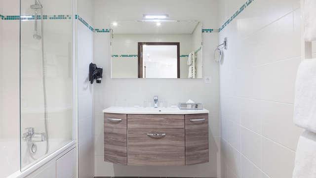 Hotel Spa Les Rives Sauvages - bath
