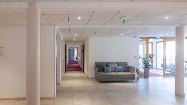 Hotel Spa Les Rives Sauvages - lobby