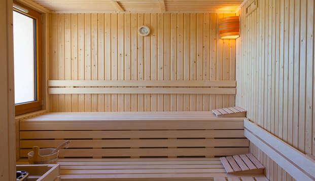 Hotel Spa Les Rives Sauvages - sauna