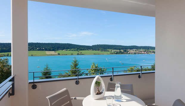 Hotel Spa Les Rives Sauvages - terrace