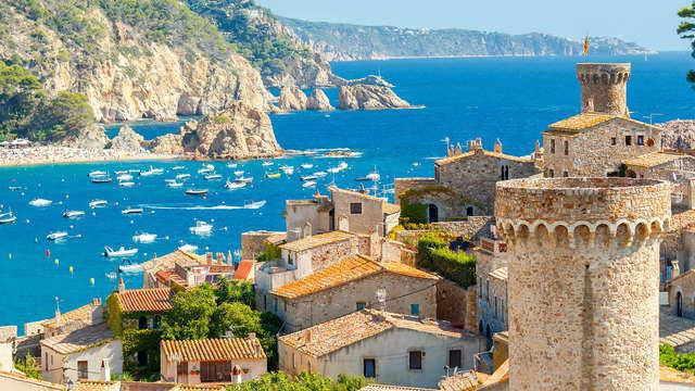 Week-end romantique en pension complète à Tossa de Mar