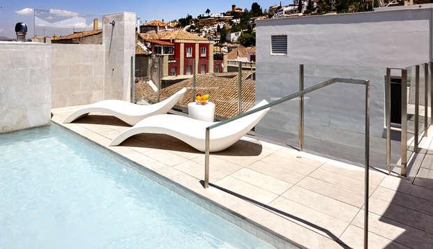 Granada Five Senses Rooms Suites - Terrace