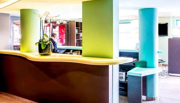 Ibis Styles Lyon Confluence - Reception