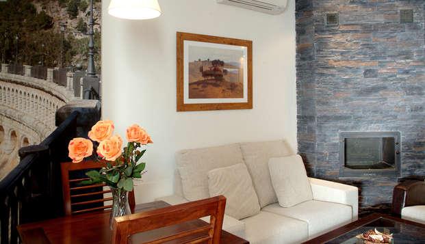 Escapada en un apartamento con encanto en Ardales, Málaga