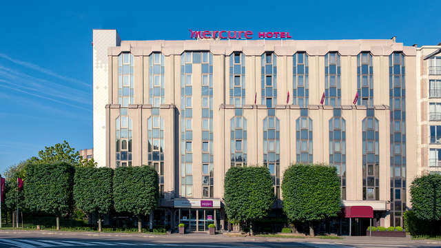Hotel Mercure Brussels Airport - Front
