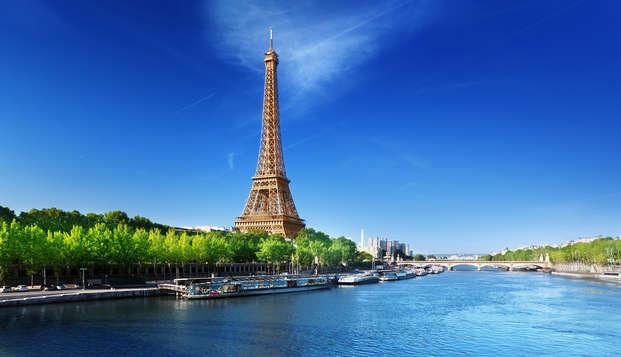 Week-end sur les rives de la Seine à Paris