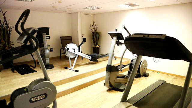 Abbaye des Capucins Hotel Spa Resort BW Premier Collection - Gym