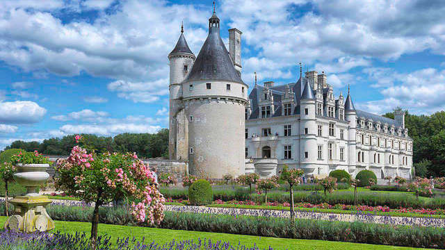 Séjour dans la Vallée de la Loire avec visite du château de Chenonceau