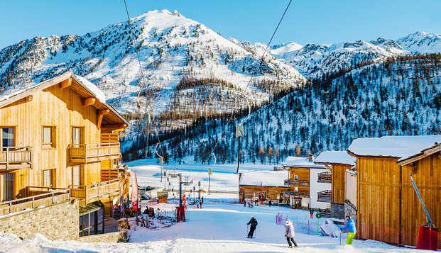 Escapada esquí con forfait en Montgenèvre (desde 2 noches)