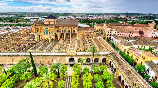 Escápate en un hotel situado a 15 minutos en coche Córdoba con desayuno gratis