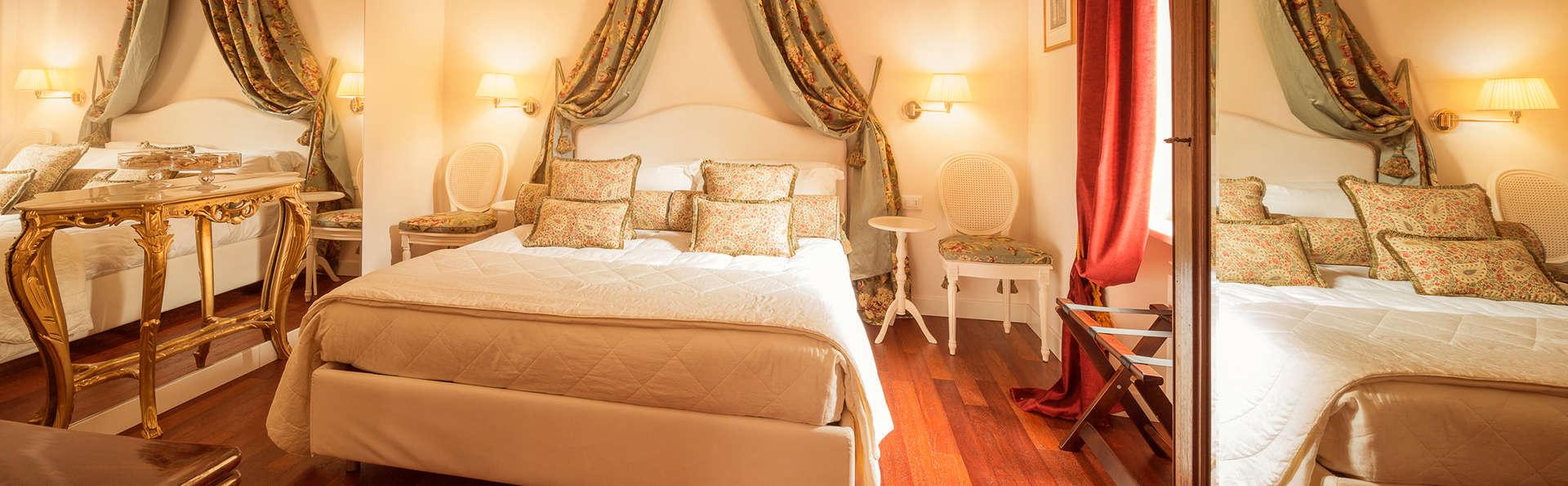 Séjour avec surclassement en chambre Deluxe à Vicoforte dans une villa du 19ème siècle