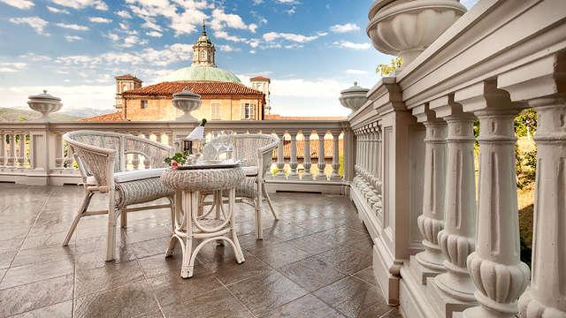 Soggiorno con upgrade in camera Deluxe a Vicoforte in una villa del XIX secolo