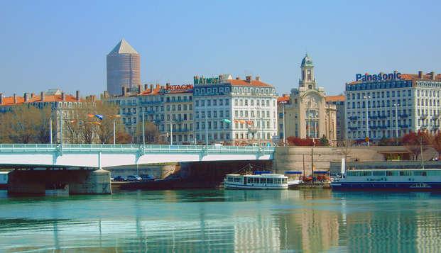 Visite culturelle de Lyon en bus touristique