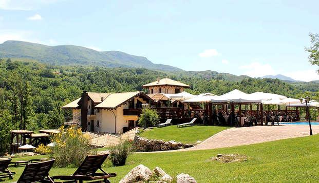 Vacanza in Abruzzo: soggiorno a Gamberale in mezza pensione