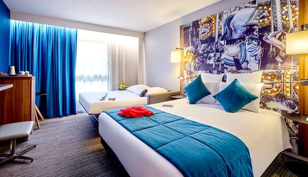 Escapada en familia con estancia en un hotel de diseño en Fontainebleau