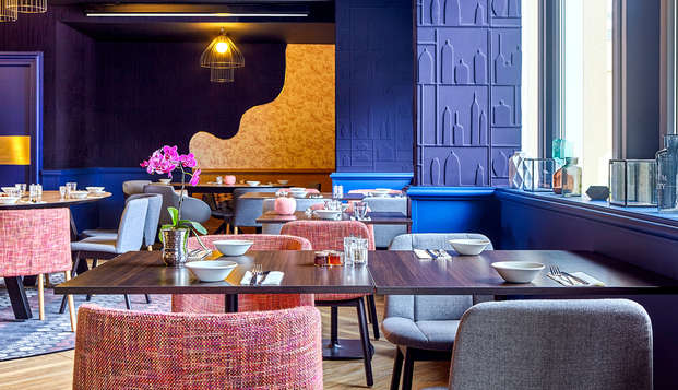 ¡Escapada gastronómica con cena de 3 platos en Fontainebleau!