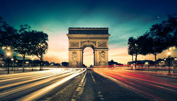 Sumérgete en la belleza de París con una suite Junior