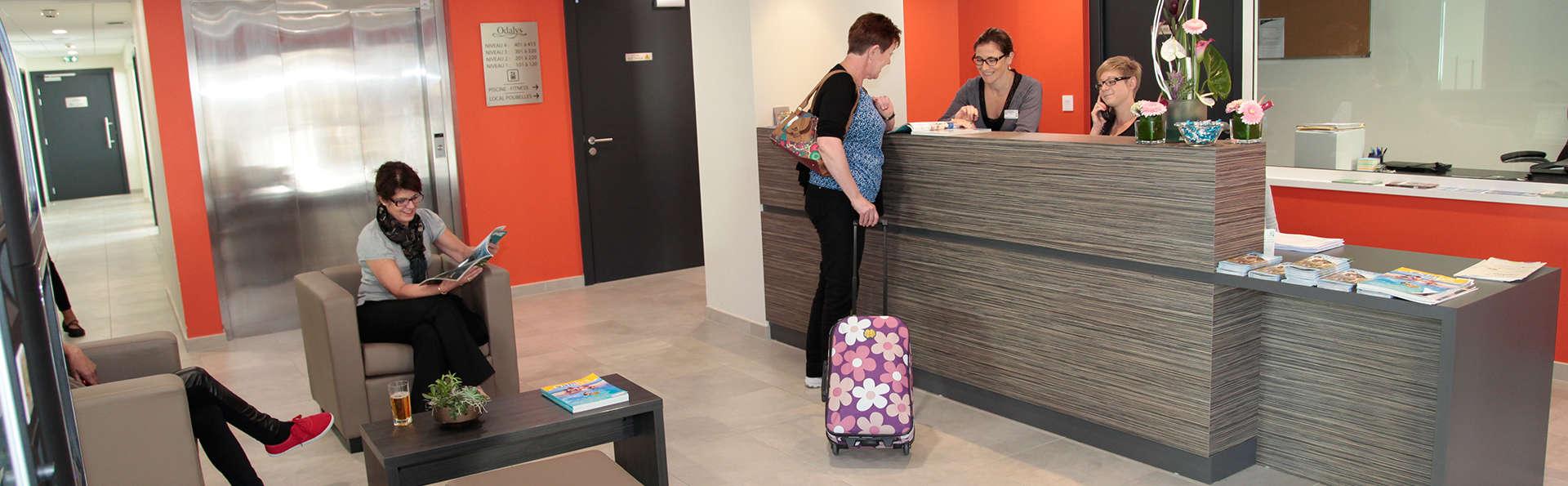 Appart'hôtel Odalys La Rose d'Argent - EDIT_reception.jpg
