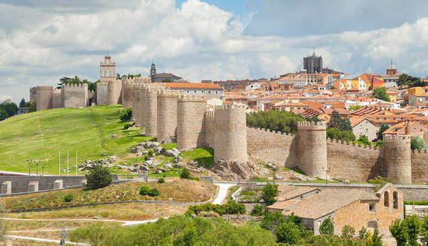 Vive unos días de descanso en la ciudad histórica de Ávila en un hotel con encanto