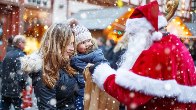 Vier kerstmis met het hele gezin in Duisburg
