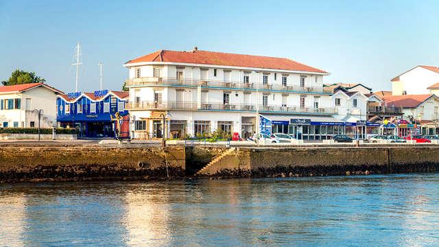 Escápate a orillas del mar y disfruta de unas vistas maravillosas desde tu habitación en Capbreton