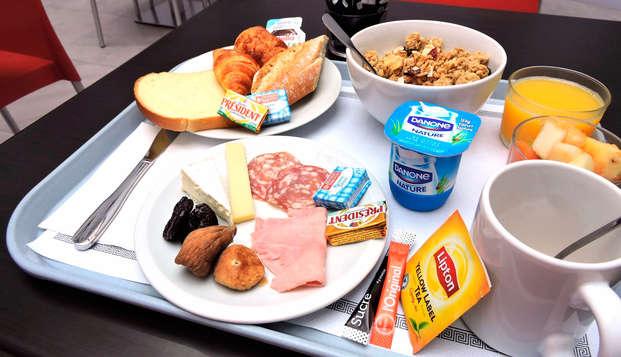 Appart Hotel Victoria Garden Bordeaux - breakfast